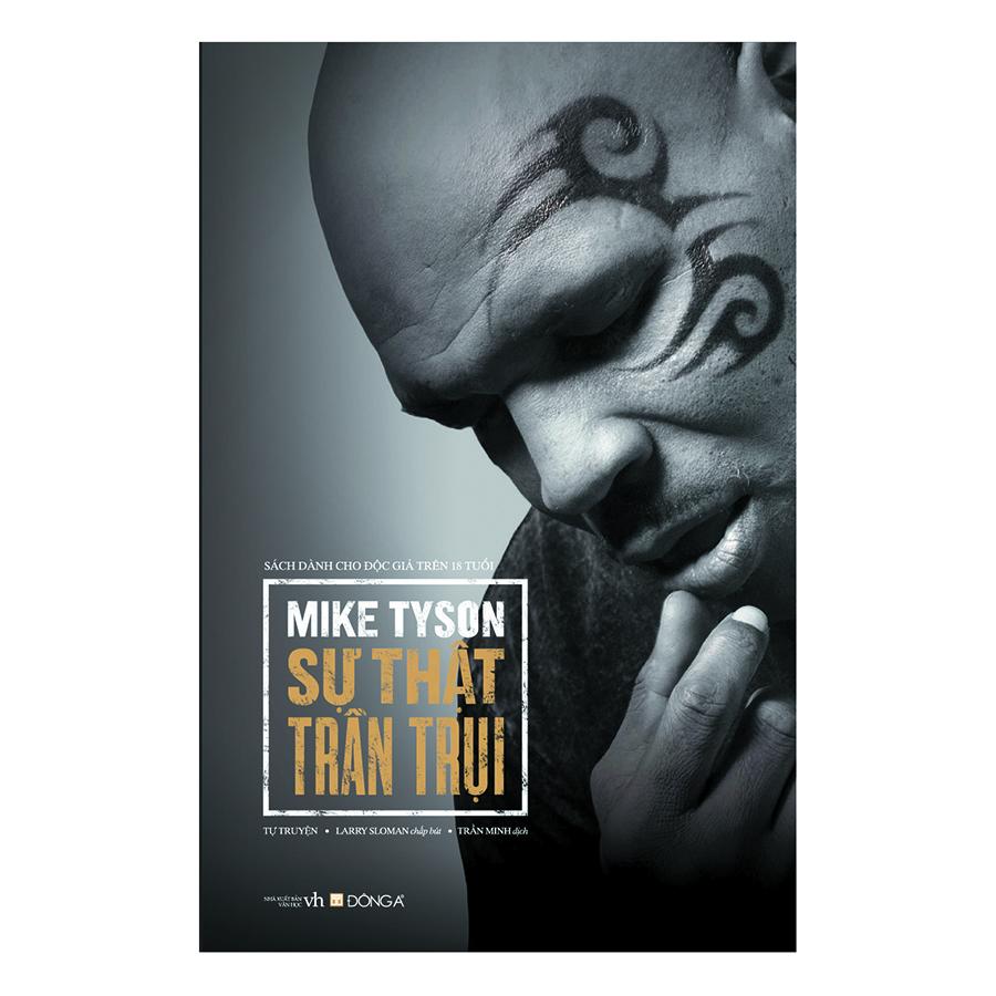 Bìa sách Mike Tyson - Sự Thật Trần Trụi