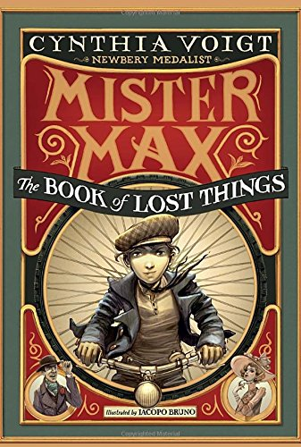Bìa sách Mister Max: The Book Of Lost Things