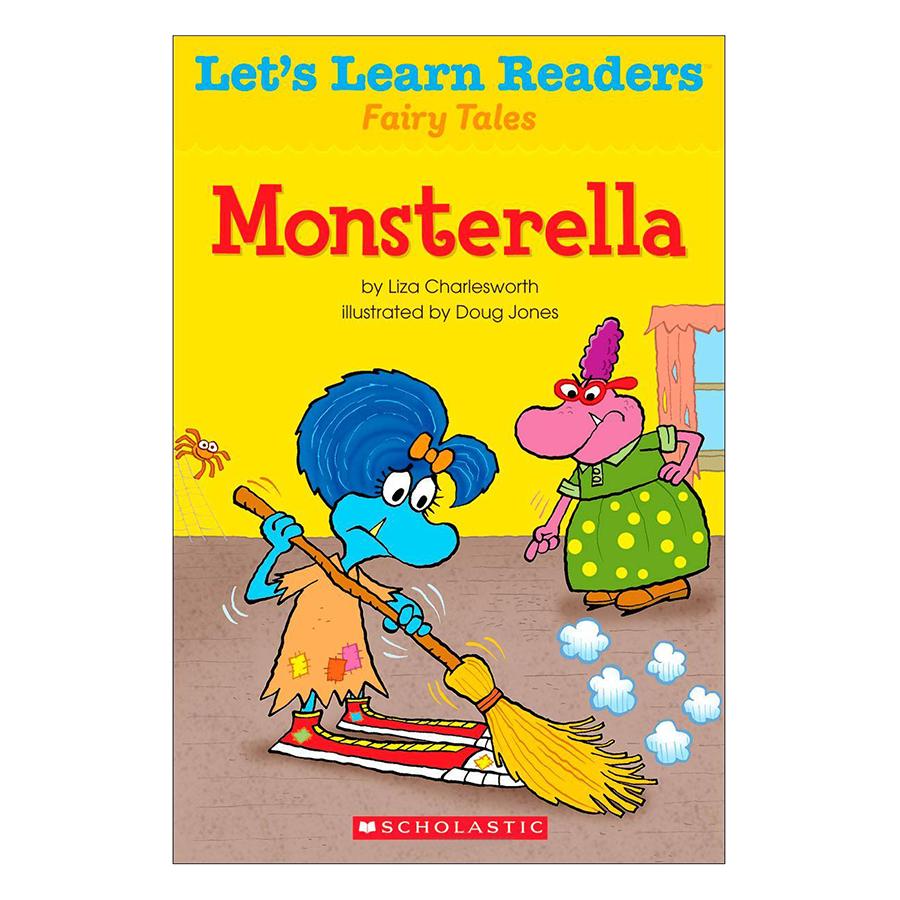Bìa sách Lets Learn Readers: Monsterella