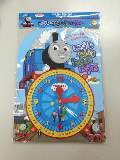 Bìa sách Thomas Và Những Người Bạn - Một Ngày Bận Rộn