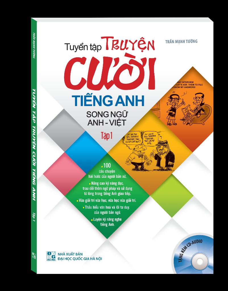 Bìa sách Tuyển Tập Truyện Cười Song Ngữ Anh - Việt (Tập 1)