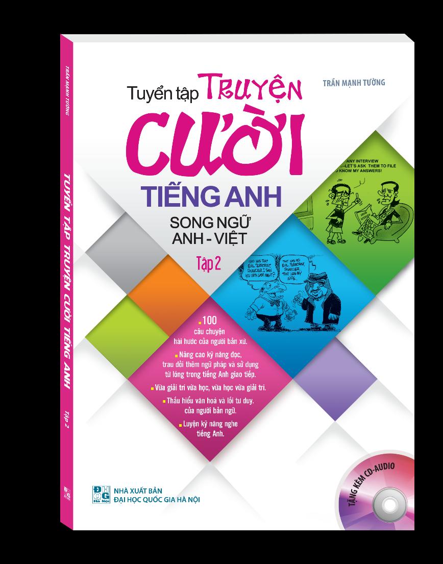 Bìa sách Tuyển Tập Truyện Cười Song Ngữ Anh - Việt (Tập 2)