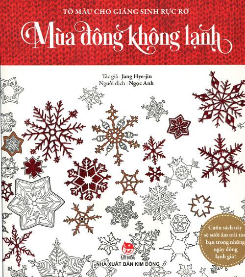 Bìa sách Tô Màu Cho Giáng Sinh Rực Rỡ - Mùa Đông Không Lạnh