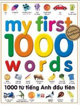 Bìa sách 1000 Từ Tiếng Anh Đầu Tiên (Tái Bản)