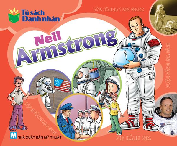 Bìa sách Tủ Sách Danh Nhân - Neil Armstrong