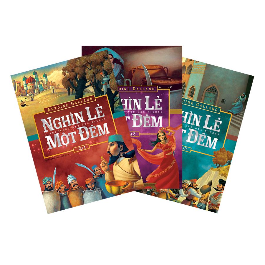 Bìa sách Combo Sách Nghìn Lẻ Một Đêm (Bộ 3 Quyển)