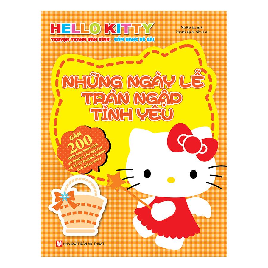 Bìa sách Hello Kitty - Những Ngày Lễ Ngập Tràn Tình Yêu