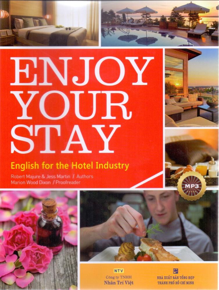 Bìa sách Enjoy Your Stay (Kèm CD)