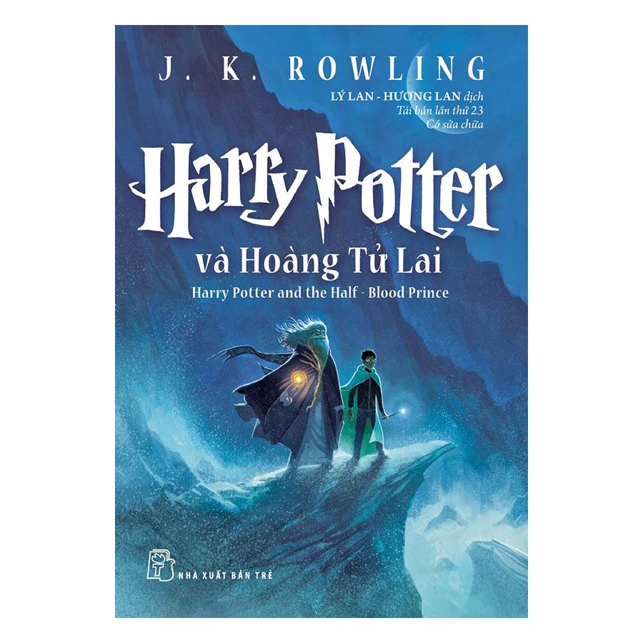 Bìa sách Harry Potter Và Hoàng Tử Lai - Tập 06 (Tái Bản 2017)