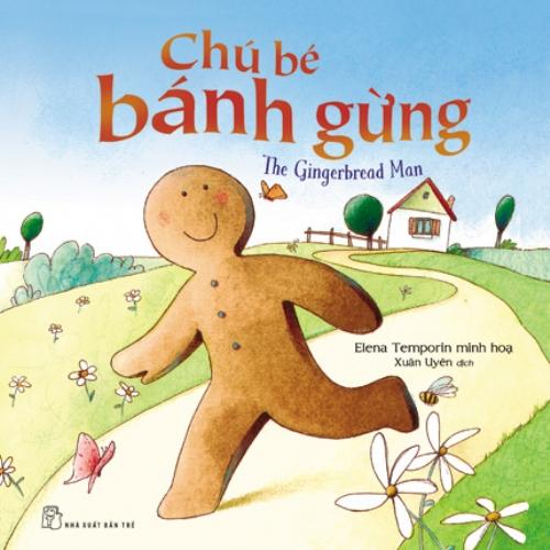 Bìa sách Usborne - Chú Bé Bánh Gừng
