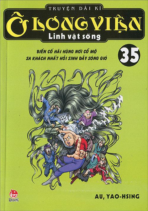 Bìa sách Ô Long Viện Linh Vật Sống - Tập 35