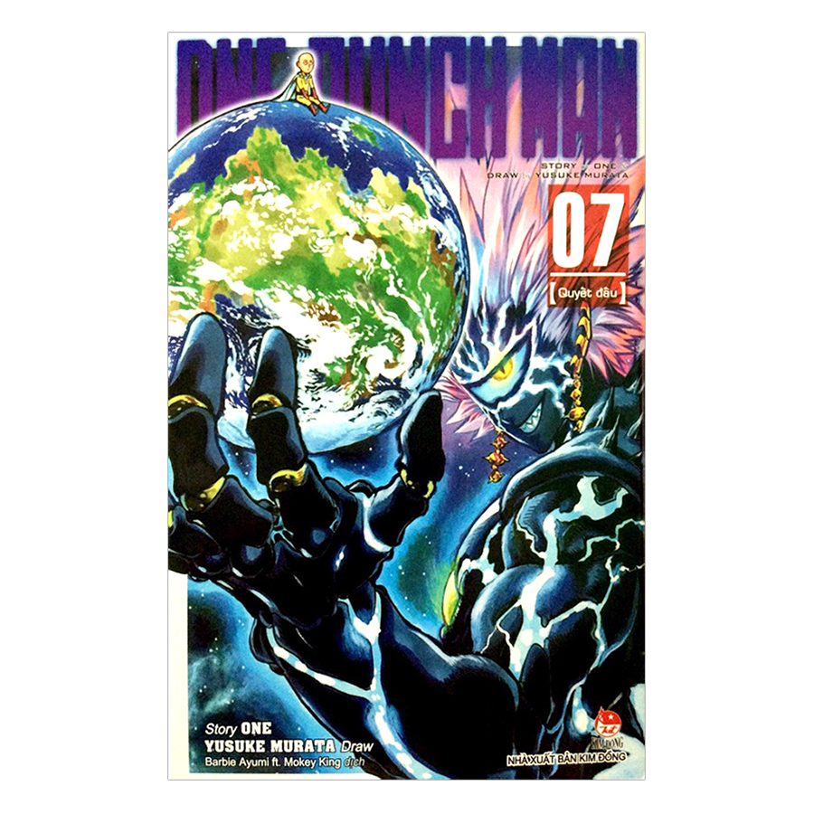 Bìa sách One Punch Man (Tập 7)