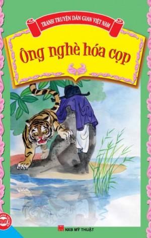 Bìa sách Truyện Cổ Tích Việt Nam - Ông Nghè Hóa Cọp