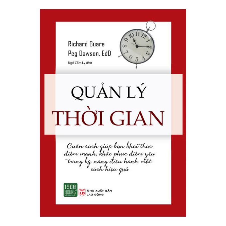 Bìa sách Quản Lý Thời Gian
