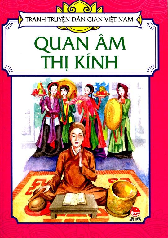 Bìa sách Tranh Truyện Dân Gian Việt Nam -  Quan Âm Thị Kính