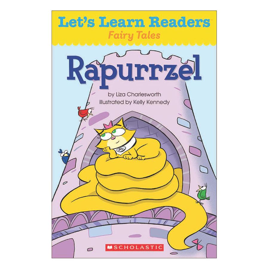 Bìa sách Lets Learn Readers: Rapurrzel