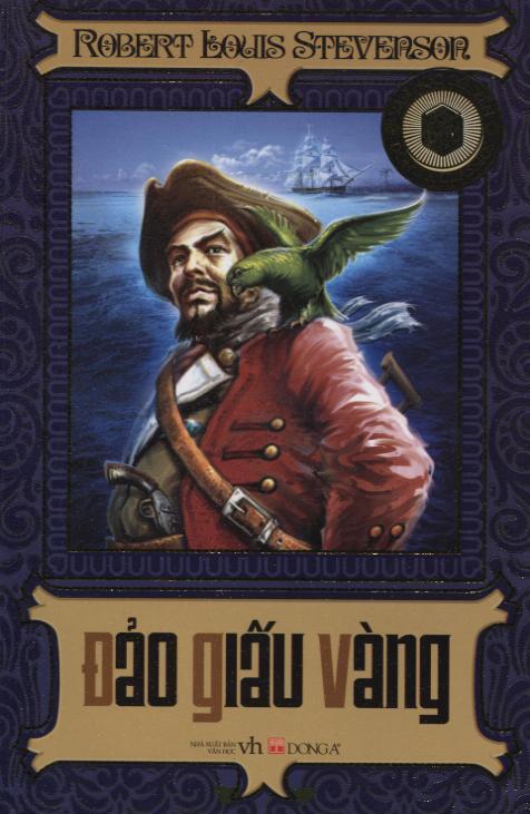 Bìa sách Đảo Giấu Vàng (Đông A)