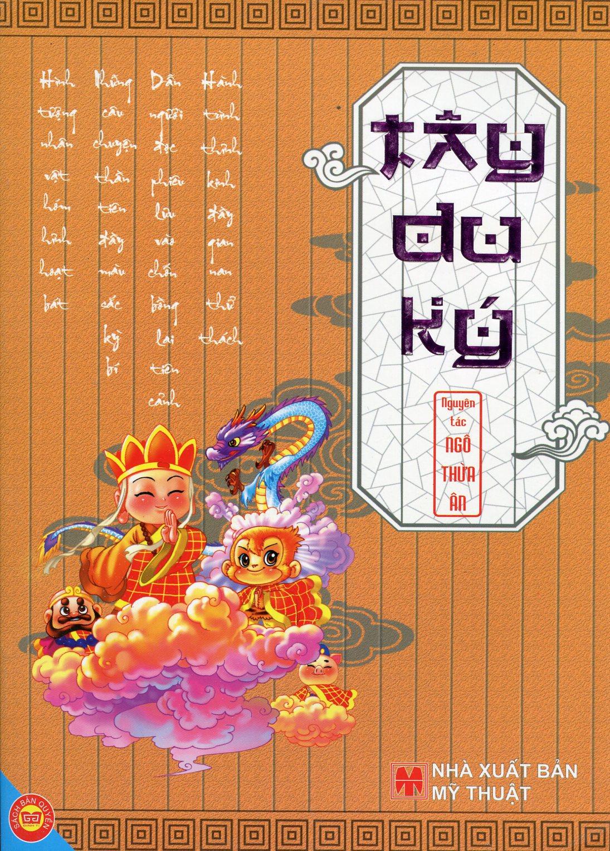 Bìa sách Tây Du Ký - Nguyên Tác: Ngô Thừa Ân (In Màu)