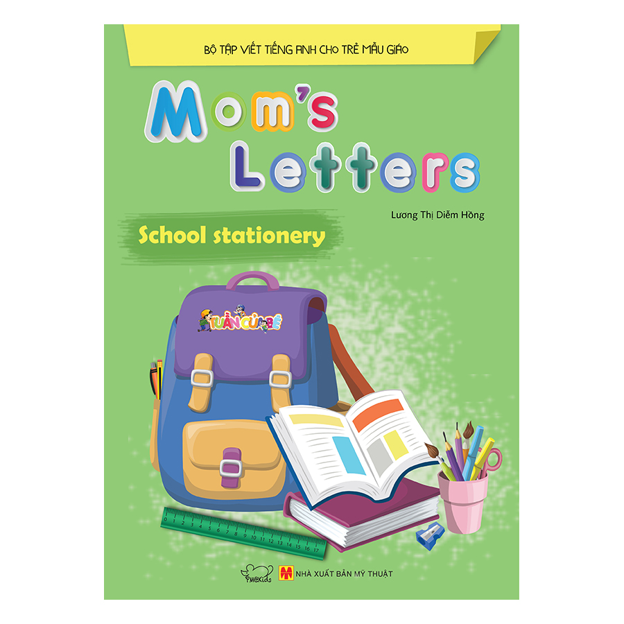 Bìa sách Moms Letters: School Stationery