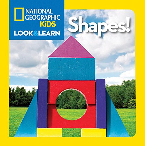 Bìa sách National Geographic Little Kids Look and Learn: Shapes!