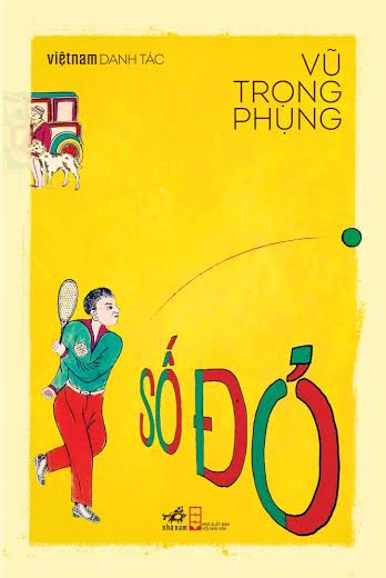 Bìa sách Việt Nam Danh Tác - Số Đỏ