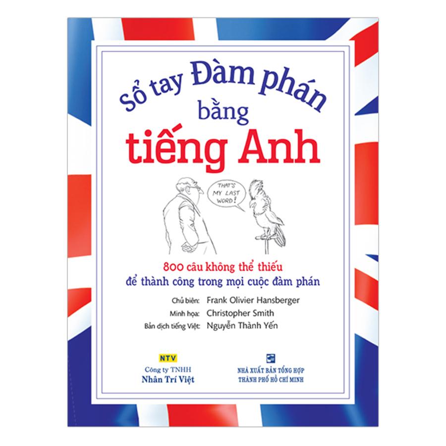 Bìa sách Sổ Tay Đàm Phán Bằng Tiếng Anh (Kèm CD)