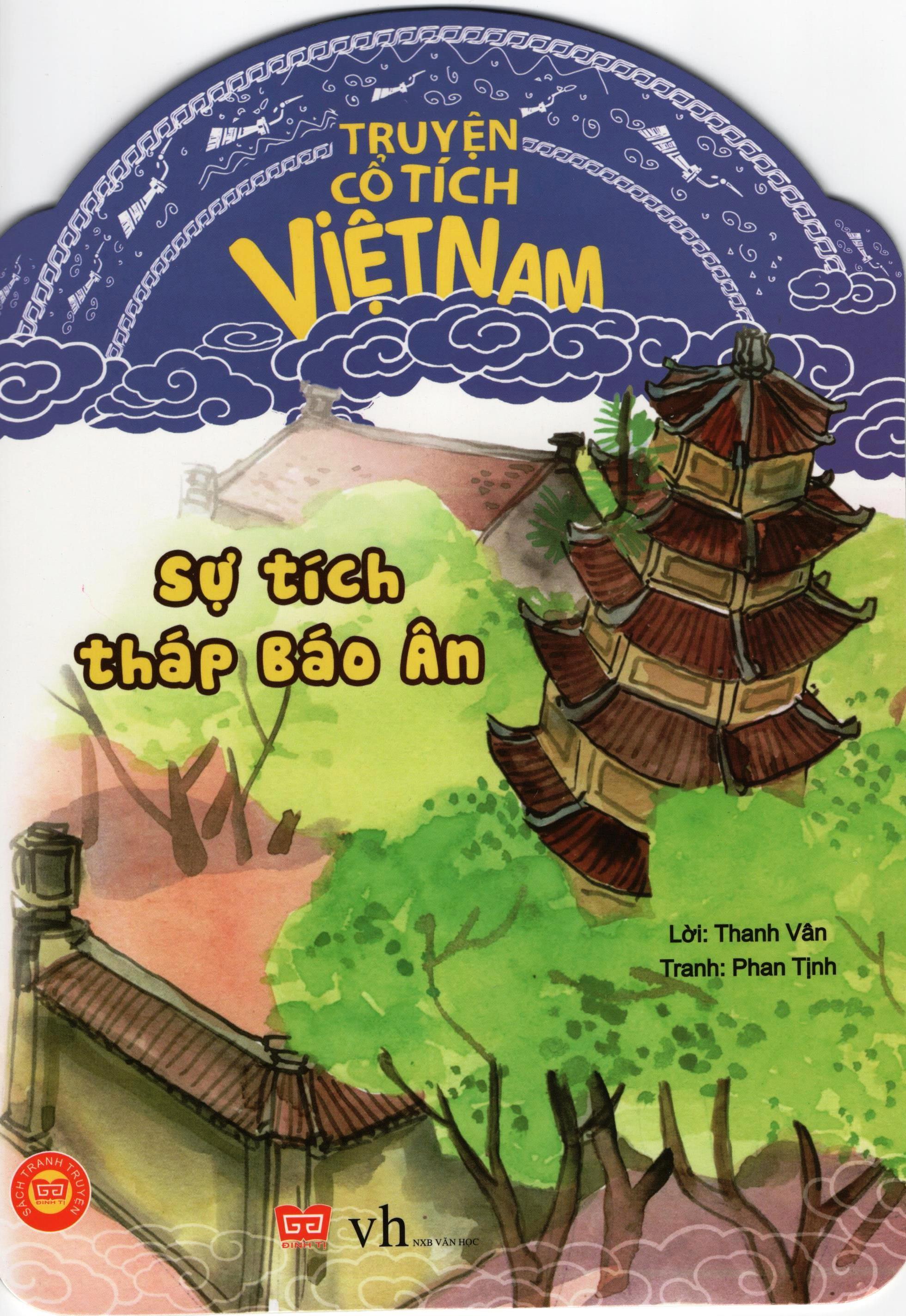 Bìa sách Truyện Cổ Tích Việt Nam - Sự Tích Tháp Báo Ân