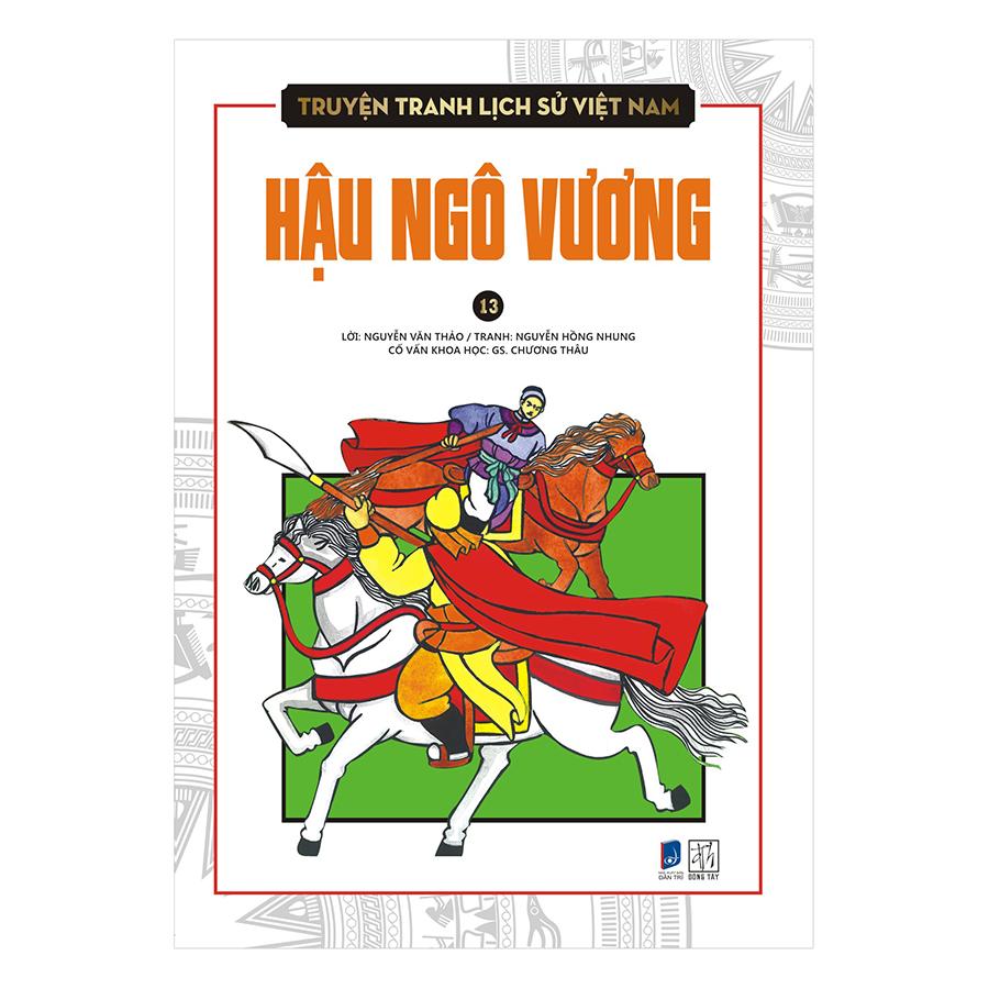 Bìa sách Truyện Tranh Lịch Sử Việt Nam - Hậu Ngô Vương