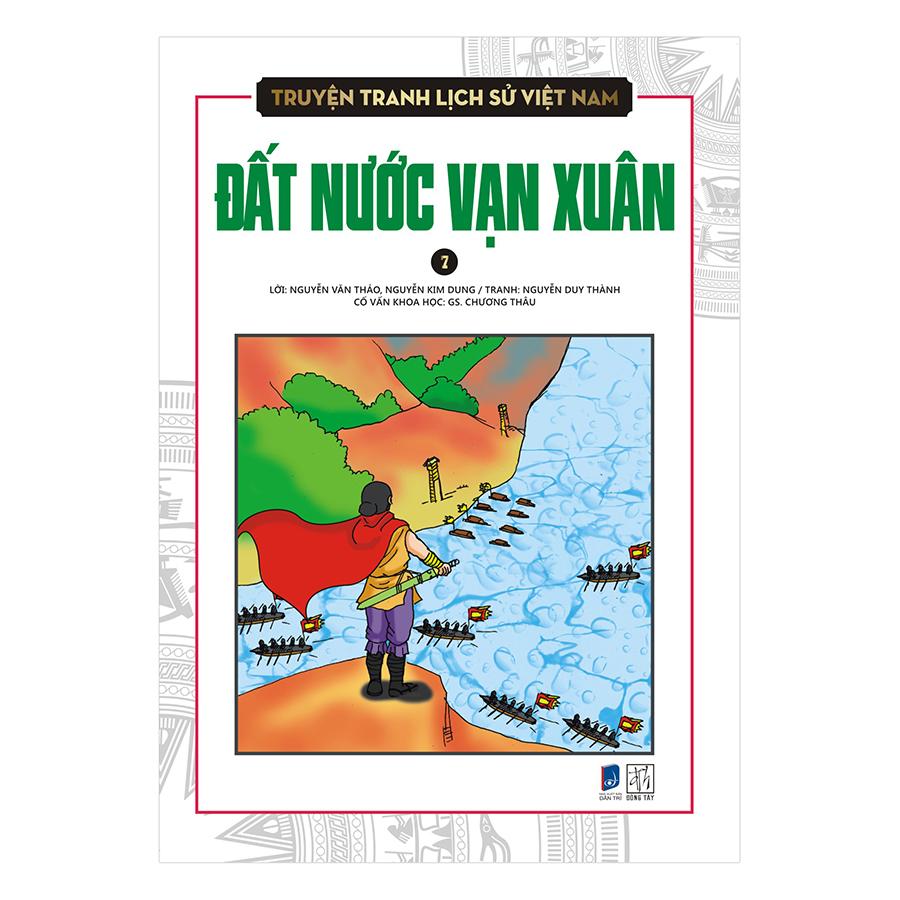 Bìa sách Truyện Tranh Lịch Sử Việt Nam - Đất Nước Vạn Xuân