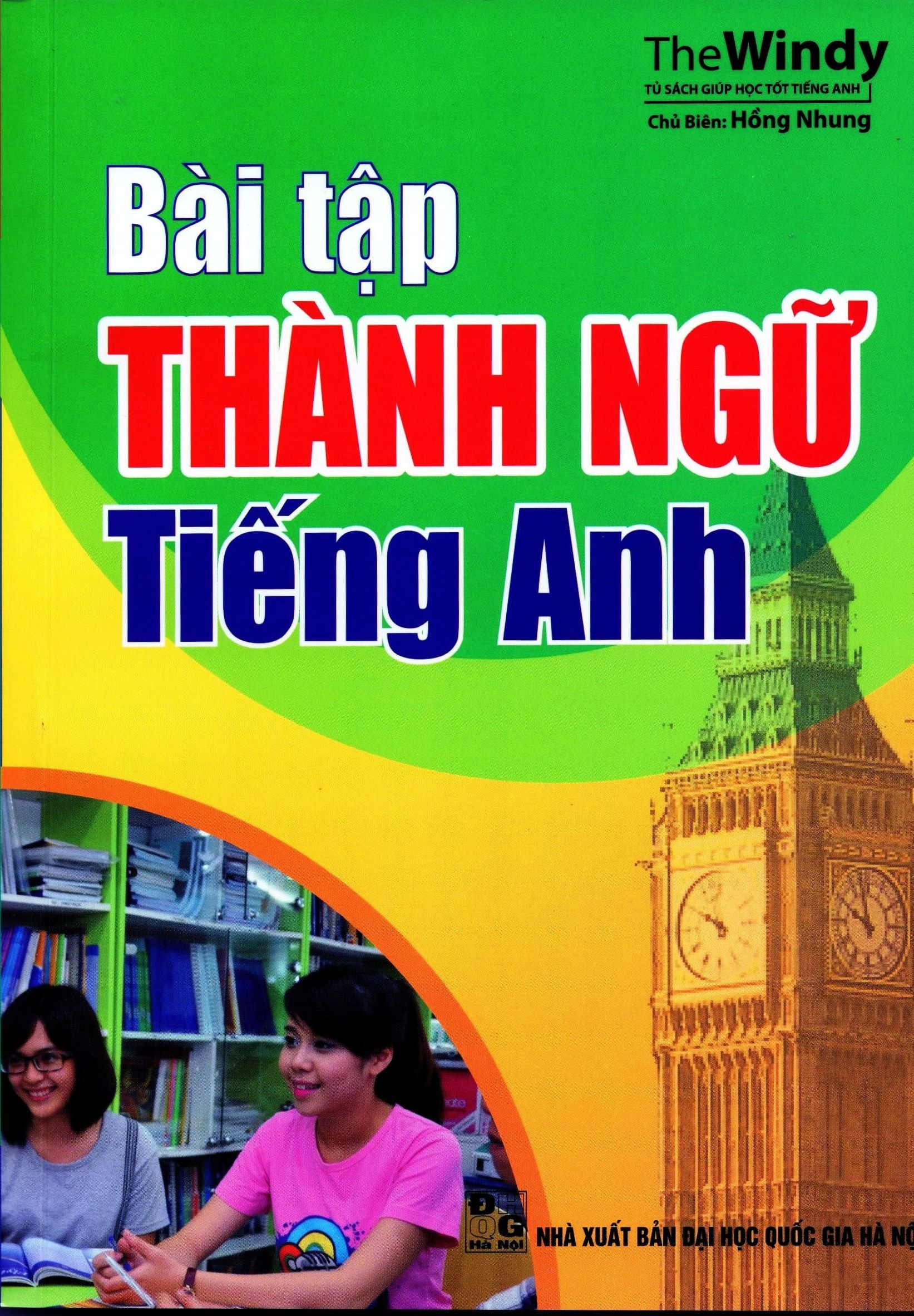 Bìa sách Bài Tập Thành Ngữ Tiếng Anh