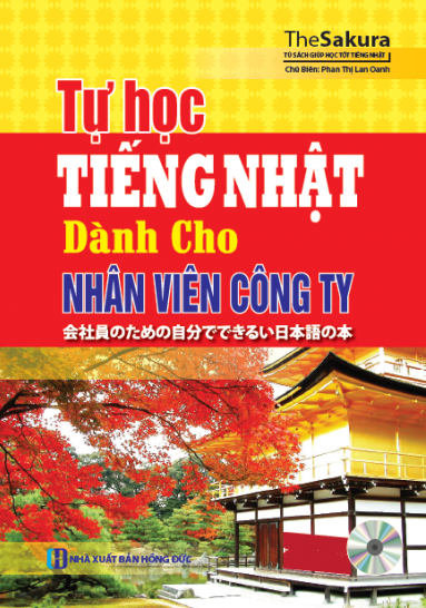 Bìa sách Tự Học Tiếng Nhật Dành Cho Nhân Viên Công Ty (Kèm CD)