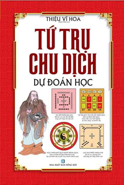 Bìa sách Tứ Trụ Chu Dịch Dự Đoán Học