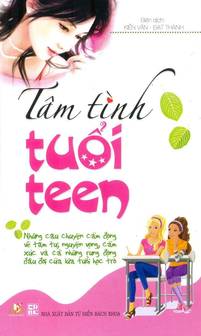 Bìa sách Tâm Tình Tuổi Teen