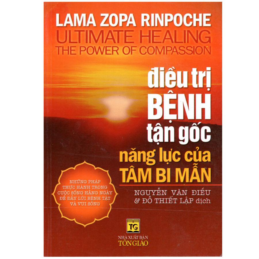 Bìa sách Điều Trị Bệnh Tận Gốc Năng Lực Của Tâm Bi Mẫn