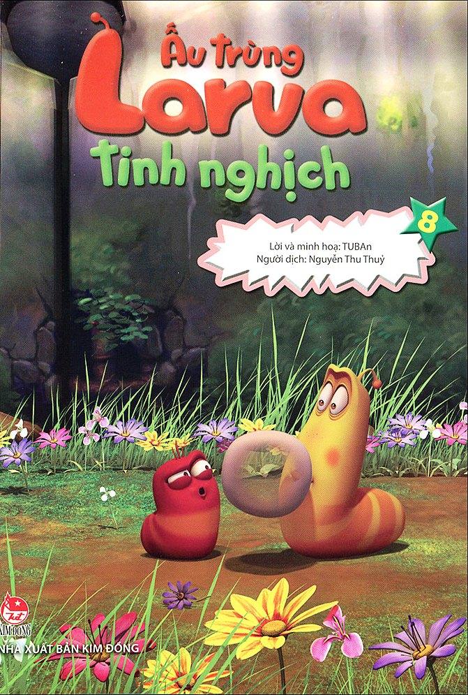 Review sách Ấu Trùng Larva Tinh Nghịch (Tập 8)
