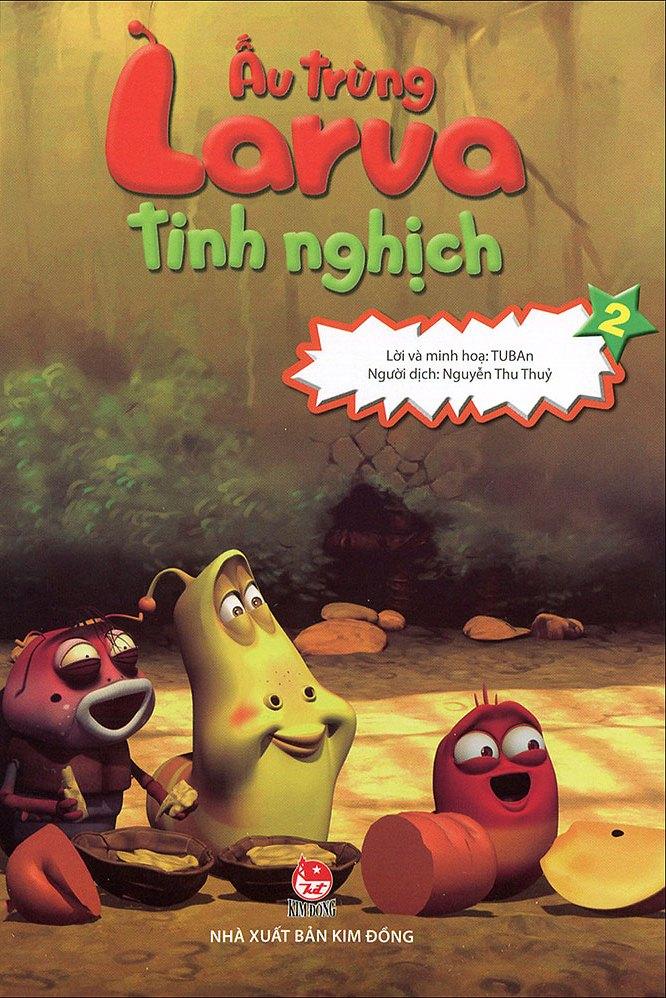 Bìa sách Ấu Trùng Larva Tinh Nghịch (Tập 2)