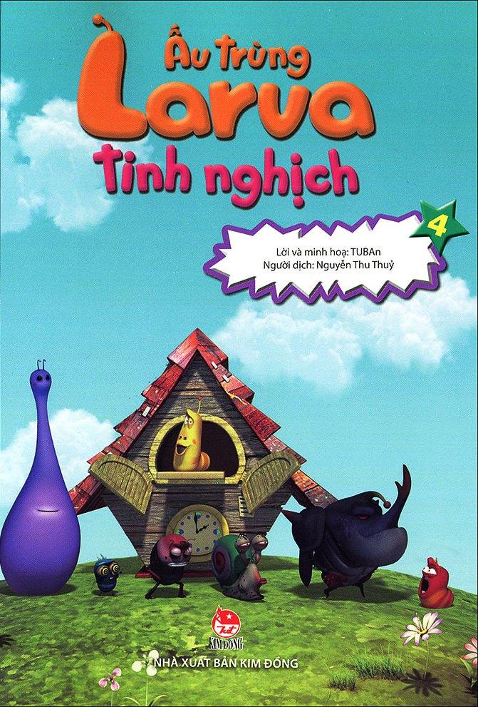 Bìa sách Ấu Trùng Larva Tinh Nghịch (Tập 4)