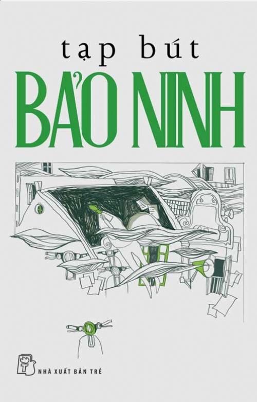 Bìa sách Tạp Bút Bảo Ninh