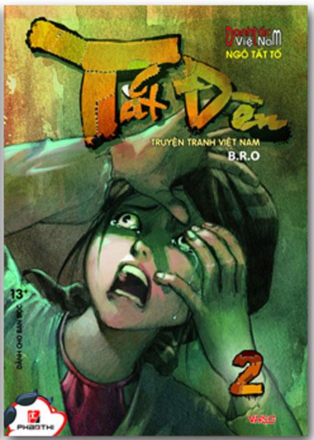 Bìa sách Tắt Đèn - Tập 2 (Truyện Tranh Việt Nam)