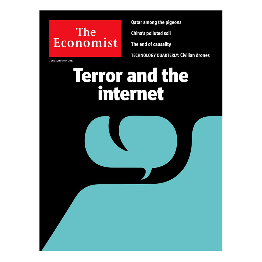Bìa sách The Economist: Terror And The Internet - 23