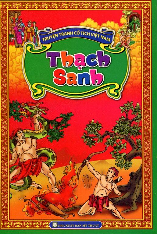 Bìa sách Truyện Tranh Cổ Tích Việt Nam - Thạch Sanh