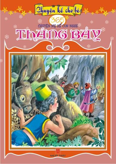 Bìa sách 365 Truyện Mẹ Kể Con Nghe: Tháng Bảy