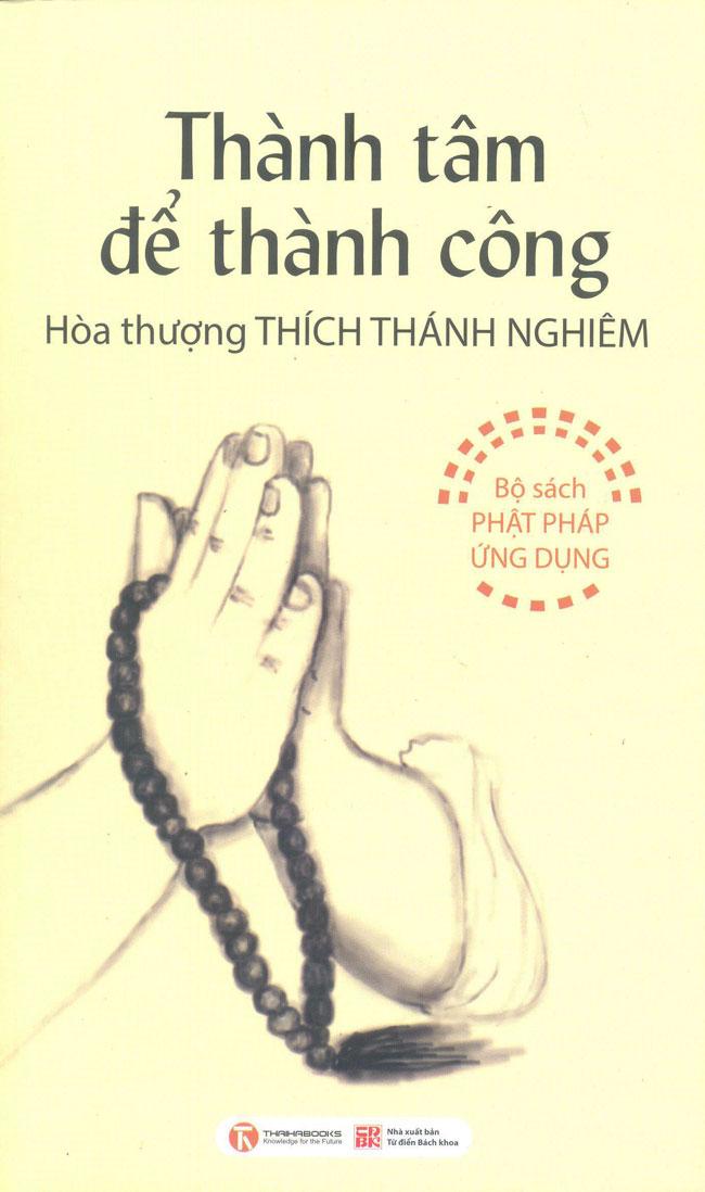 Bìa sách Thành Tâm Để Thành Công