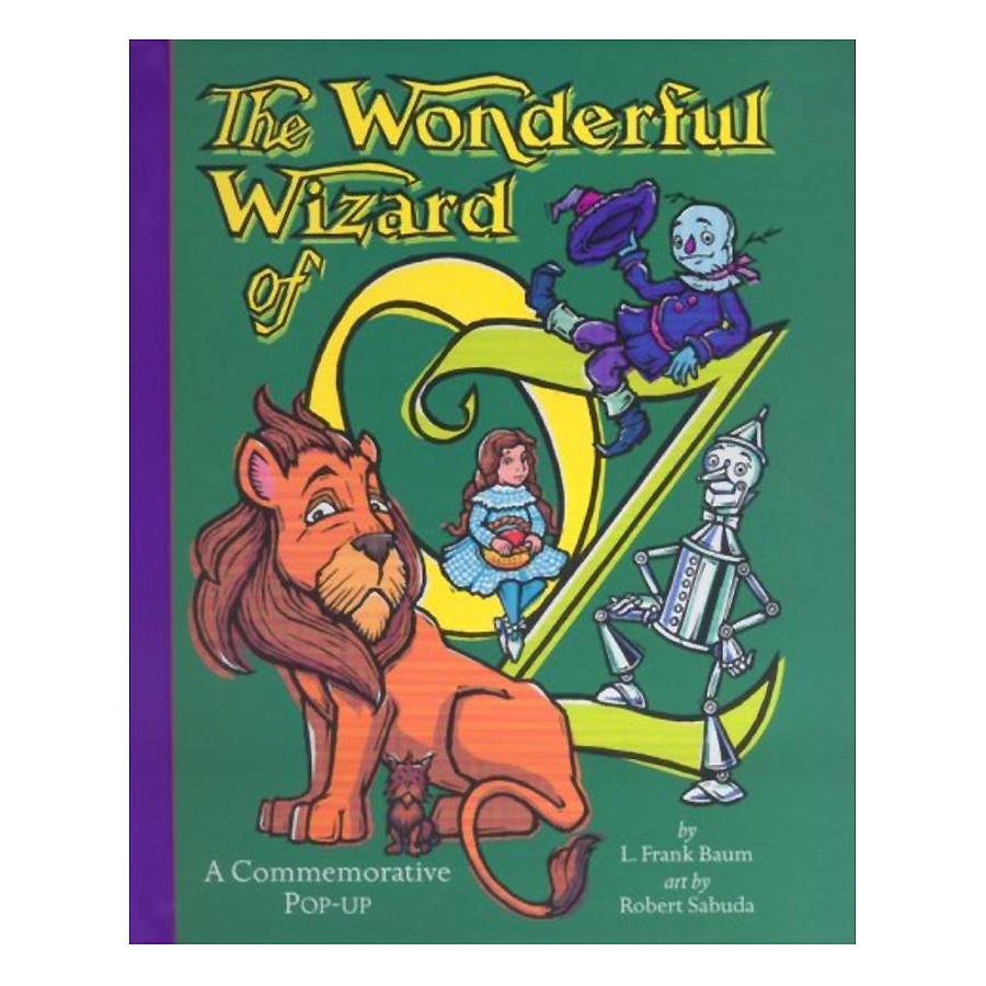 Bìa sách The Wonderful Wizard Of Oz: A Commemorative Pop-Up