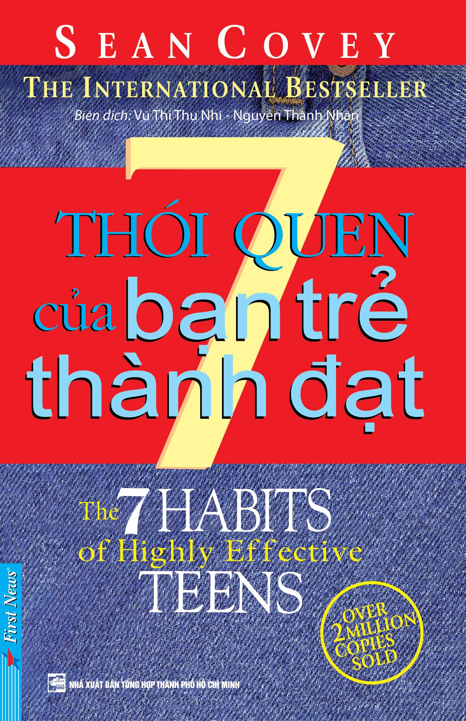 Bìa sách 7 Thói Quen Của Bạn Trẻ Thành Đạt (Tái Bản)