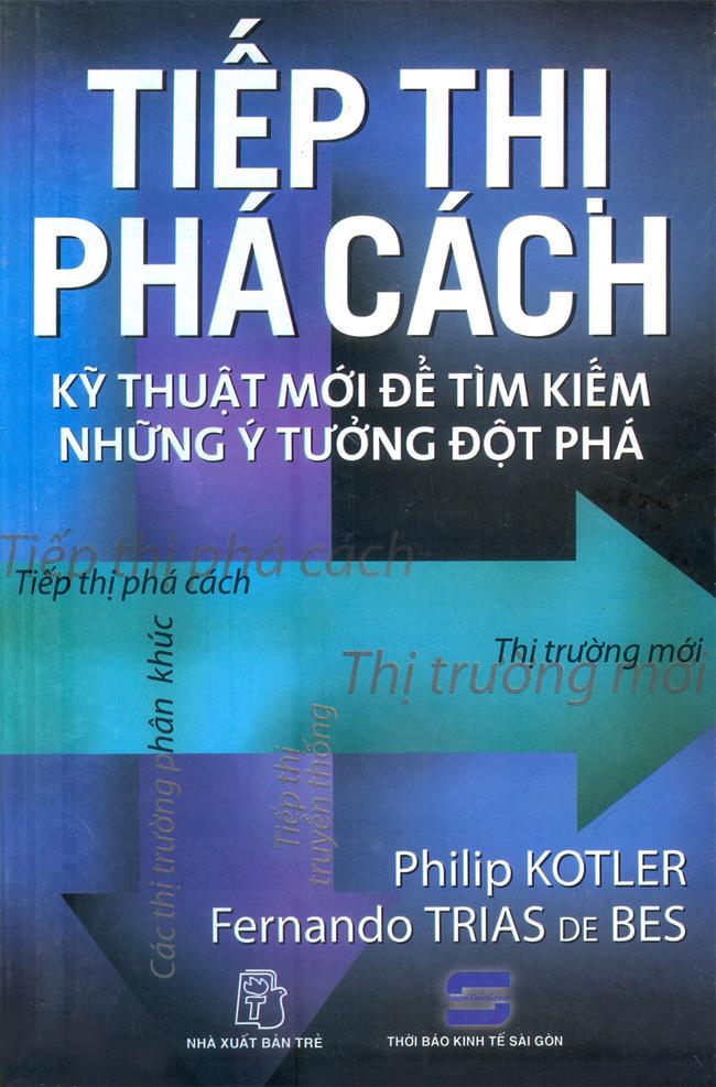 Bìa sách Tiếp Thị Phá Cách