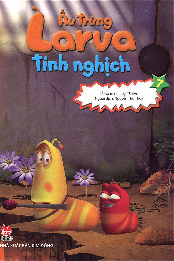 Review sách Ấu Trùng Larva Tinh Nghịch (Tập 7)