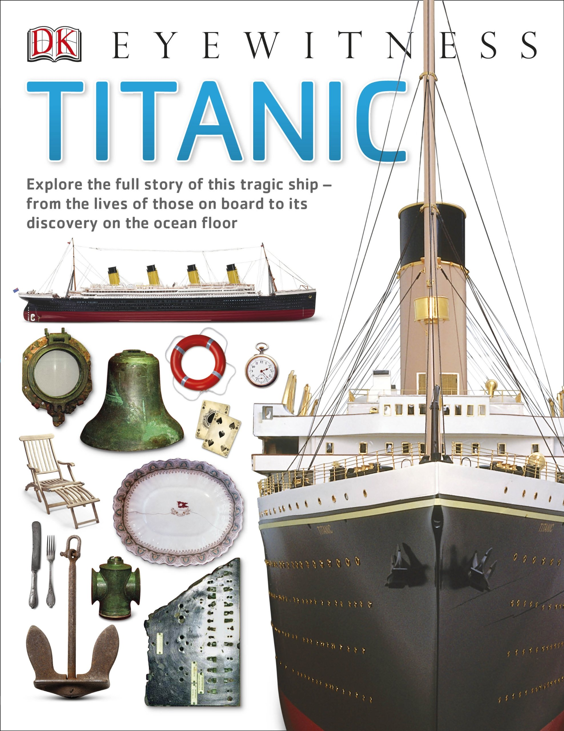 Bìa sách Titanic (Eyewitness)