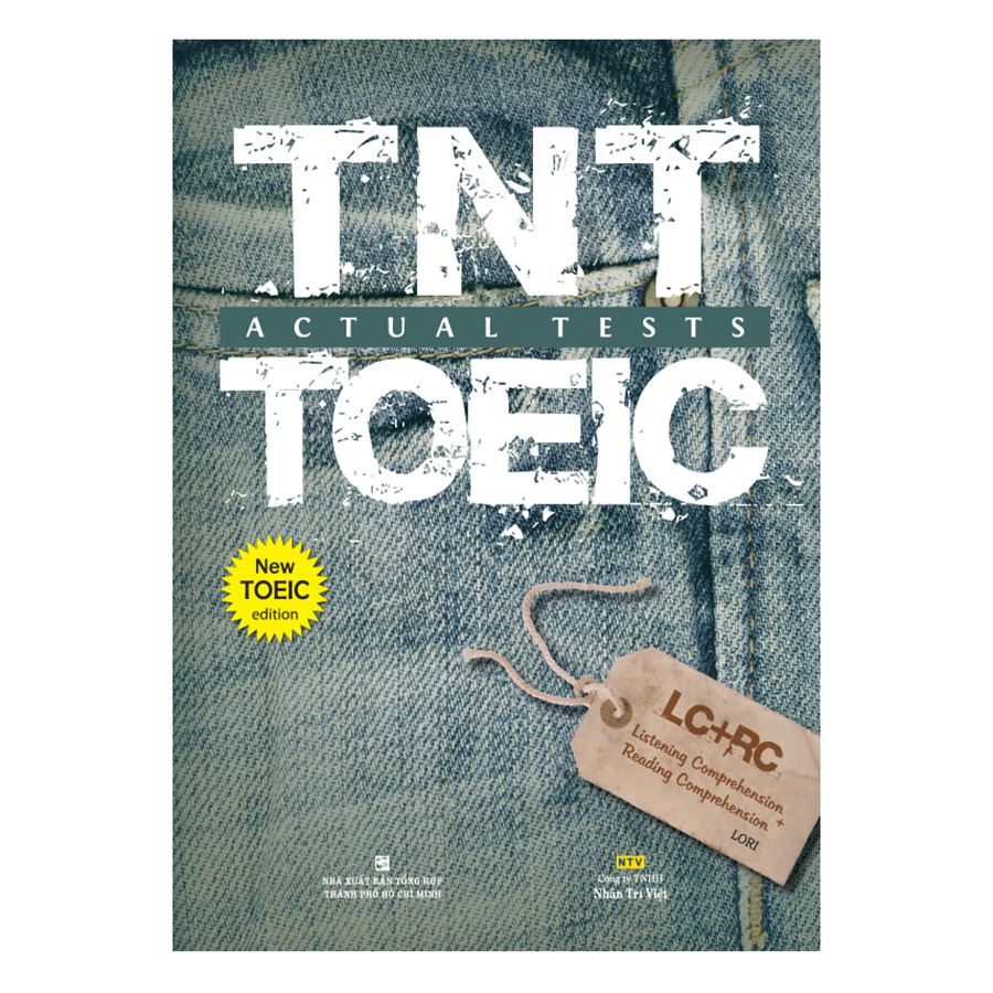 Bìa sách TNT Toeic Actual Tests