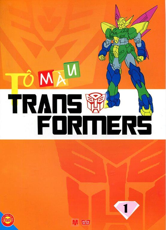 Bìa sách Tô Màu Trans Formers (Tập 1)